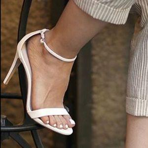 Steve Madden Stecy Strappy sandal heels white 8
